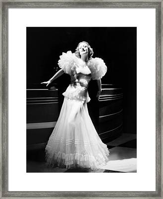 Letty Lynton, Joan Crawford, In A Gown Framed Print by Everett