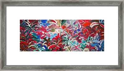 Let'z Dance Framed Print by Cyryn Fyrcyd