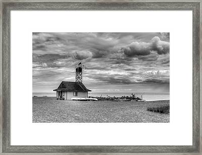 Leuty Lifeguard Station Framed Print