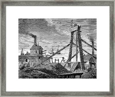 Levant Mine Framed Print by Collection Abecasis