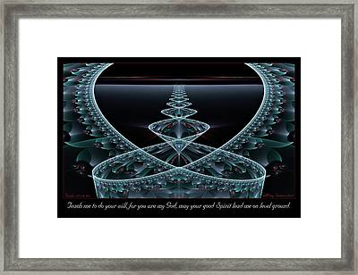 Level Ground Framed Print