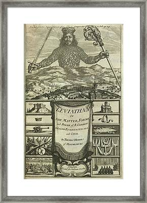 Leviathan Framed Print by British Library