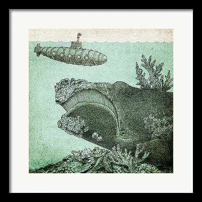 Pen And Ink Drawings Framed Prints