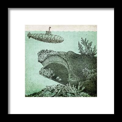 Reef Framed Prints