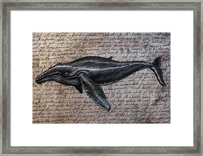 Leviathan Framed Print by Mark Zelmer