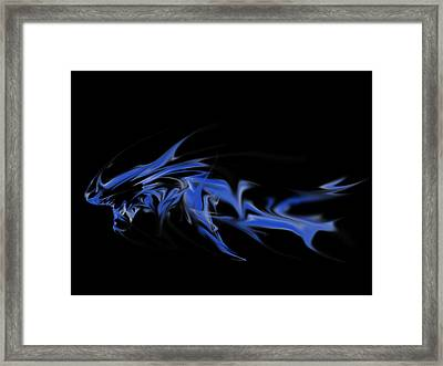 Leviathan Framed Print by Matthew Angelo