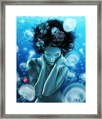 Leviathan Framed Print by Pete Tapang