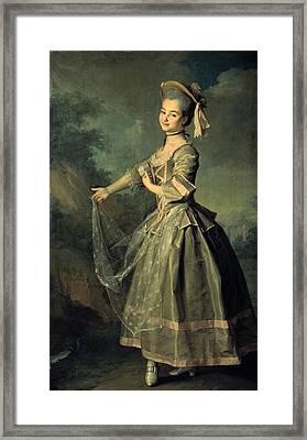 Levitskidmitri Grigorievich 1735-1822 Framed Print by Everett