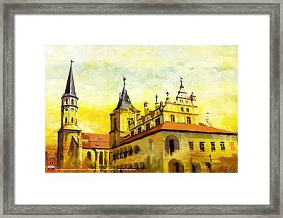 Levoca Spissky Hrad And The Associated Cultural Monuments Framed Print