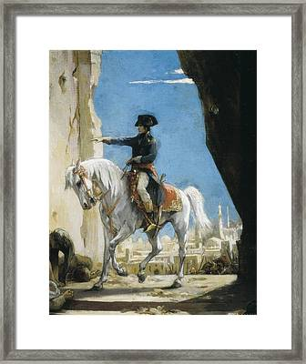 Levy, Henri L�opold 1840-1904. Napoleon Framed Print by Everett