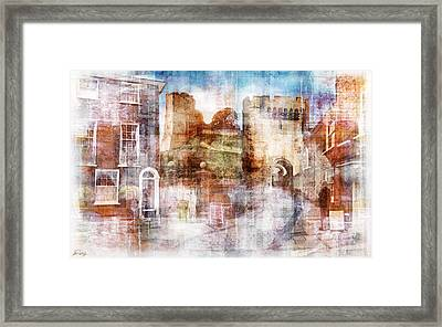 Lewes Castle Sussex Framed Print by Mark Preston