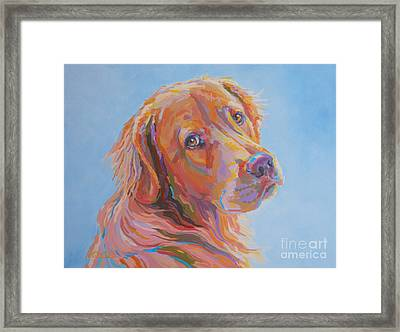 Lewis Framed Print by Kimberly Santini