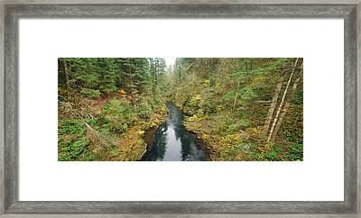 Lewis River  Framed Print by Twenty Two North Photography