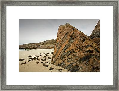 Lewisian Gneiss Framed Print by Ashley Cooper