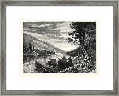 Lewistown Narrows Framed Print