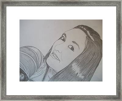 Lexi Framed Print by Justin Moore