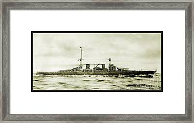 Lexington Class Battle Cruiser Framed Print