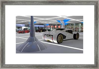 Lexus Cs 2054 Framed Print