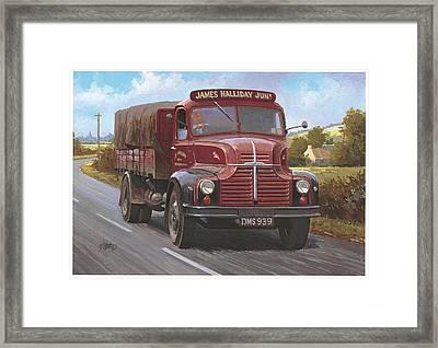 Leyland Comet 1948 Framed Print