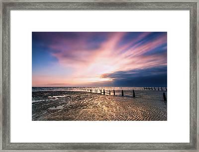 Leysdown Dawn Framed Print