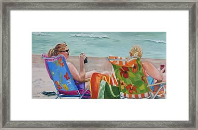 Ladies' Beach Retreat Framed Print