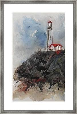 Lghthouse Framed Print