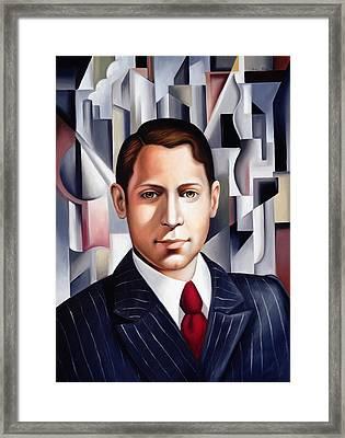 L'homme D'affaire Framed Print
