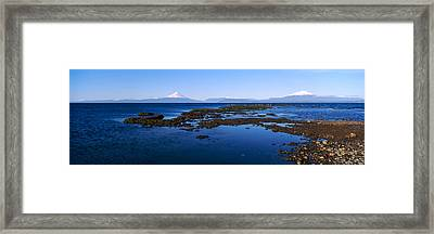 Lianquihue Lake Osorno Chile Framed Print by Panoramic Images