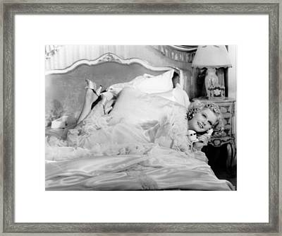 Libeled Lady, Jean Harlow, 1936 Framed Print by Everett