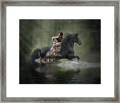 Liberated Framed Print by Fran J Scott