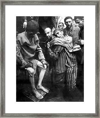 Liberated Prisoners Of Wobbelin Framed Print
