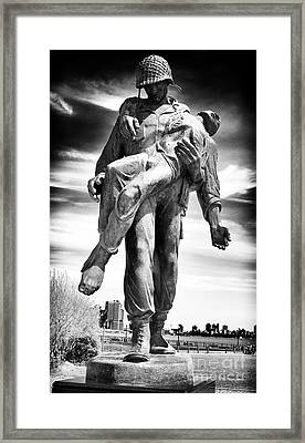 Liberation Framed Print by John Rizzuto