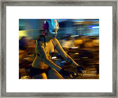 Award Winning Artistic Photograph - Liberta - Awarded At X Rome Biennial Framed Print