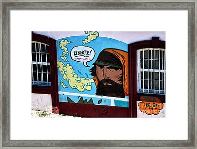 Liberte In Chile Framed Print by John Rizzuto