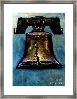 Liberty Bell Framed Print by Craig Green