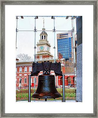 Liberty Bell Framed Print