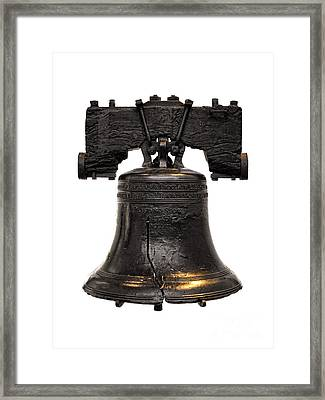 Liberty Bell Framed Print by Olivier Le Queinec