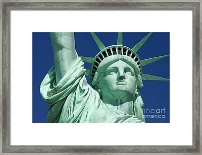 Liberty Framed Print by Brian Jannsen