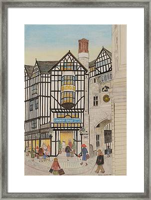 Liberty I, 1988 Watercolour On Paper Framed Print by Gillian Lawson