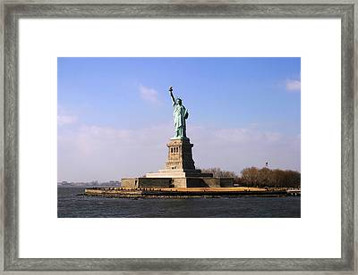Liberty Island Framed Print