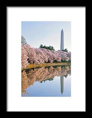Washington Monument Framed Prints