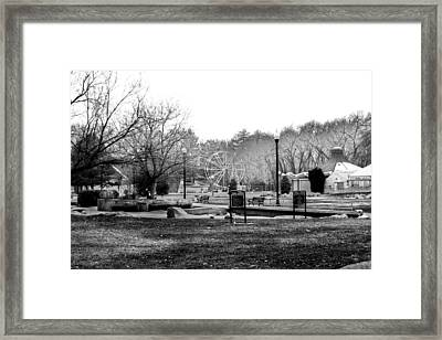 Liberty Park Framed Print