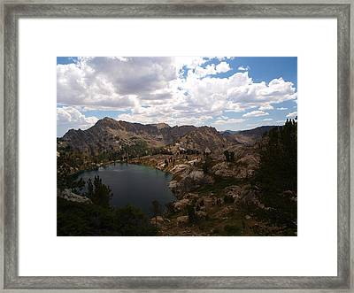 Framed Print featuring the photograph Liberty Pass by Jenessa Rahn