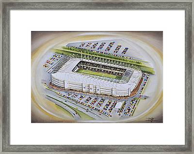 Liberty Stadium - Swansea City Framed Print by D J Rogers