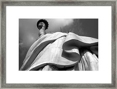 Liberty's Gown Framed Print