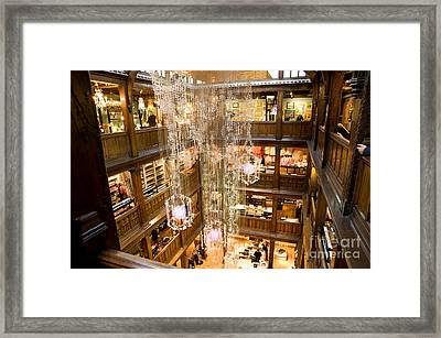 Libertys Of London Framed Print by Donald Davis