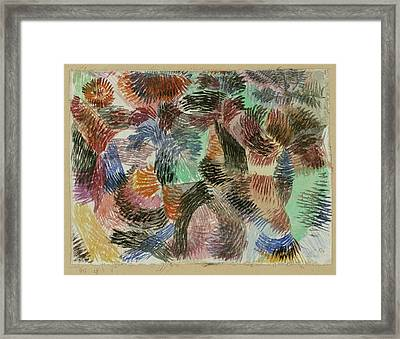 Libido Of The Forest Framed Print