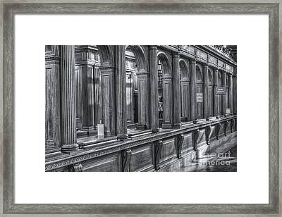 Library Book Return II Framed Print by Clarence Holmes