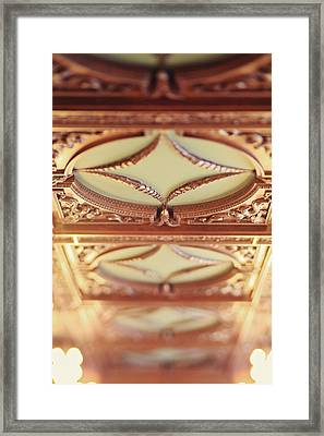 Library Ceiling Framed Print by Heather Green