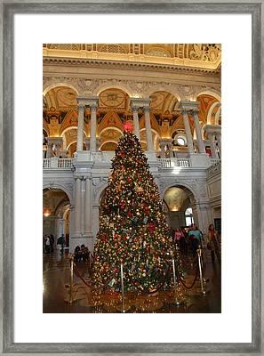 Library Of Congress - Washington Dc - 011312 Framed Print